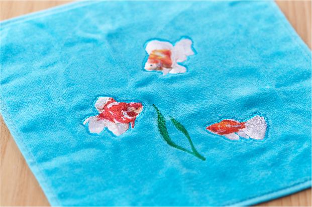 せと刺繍タオル