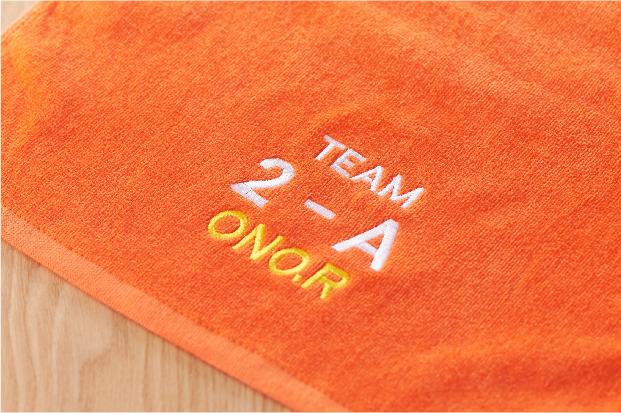 チーム刺繍タオル