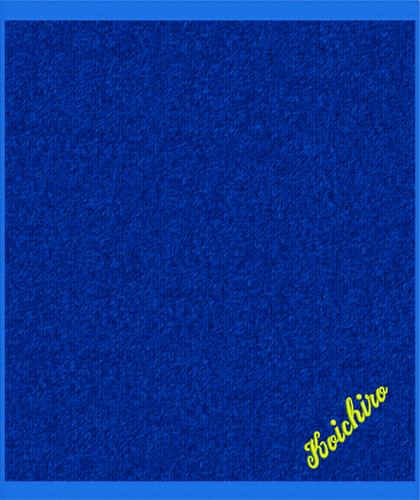 刺繍サイズ W8.1cm×H2.0cm