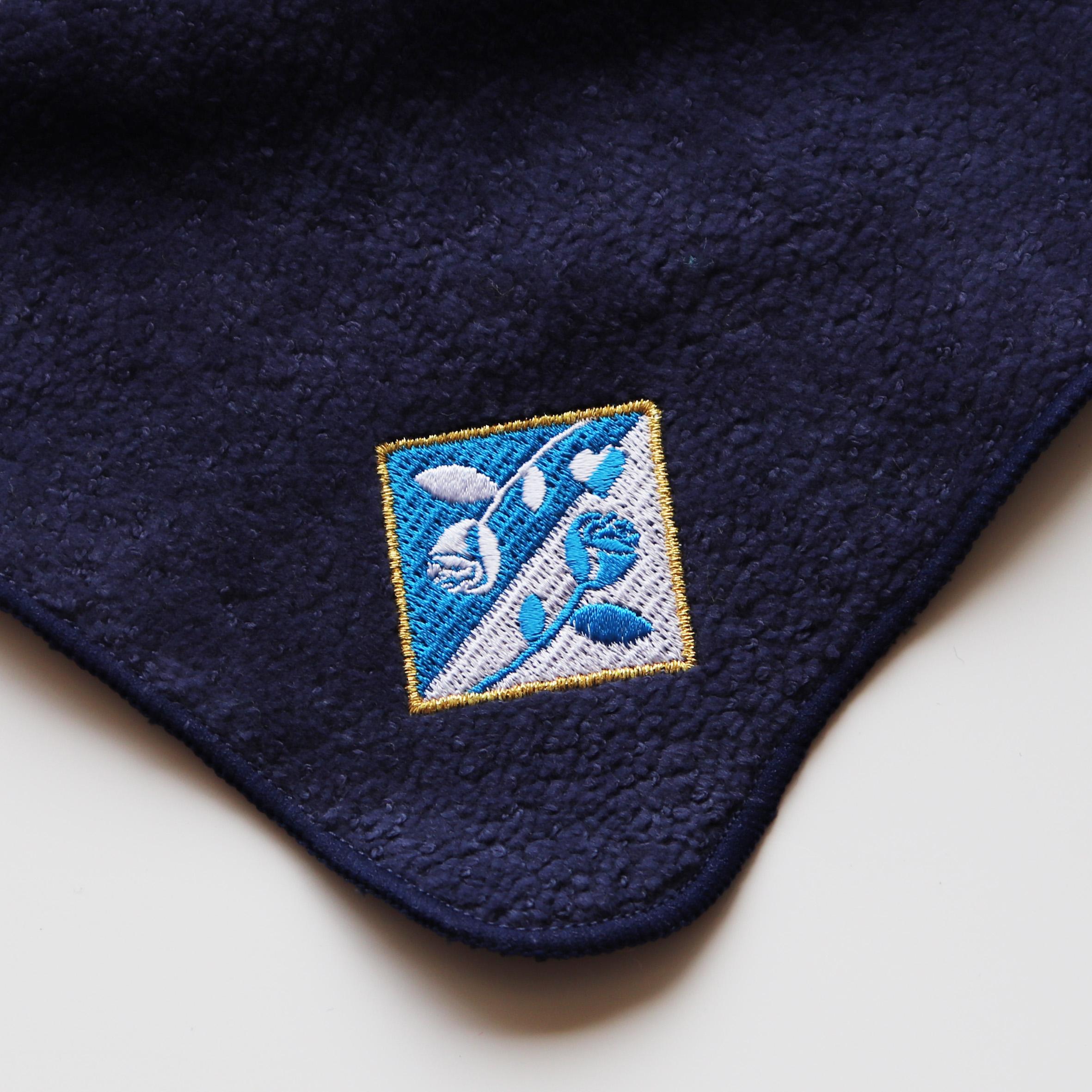 【15290】<br>オリジナル刺繍/C位置<br>YG500<br>ミニタオル<br>ネイビー