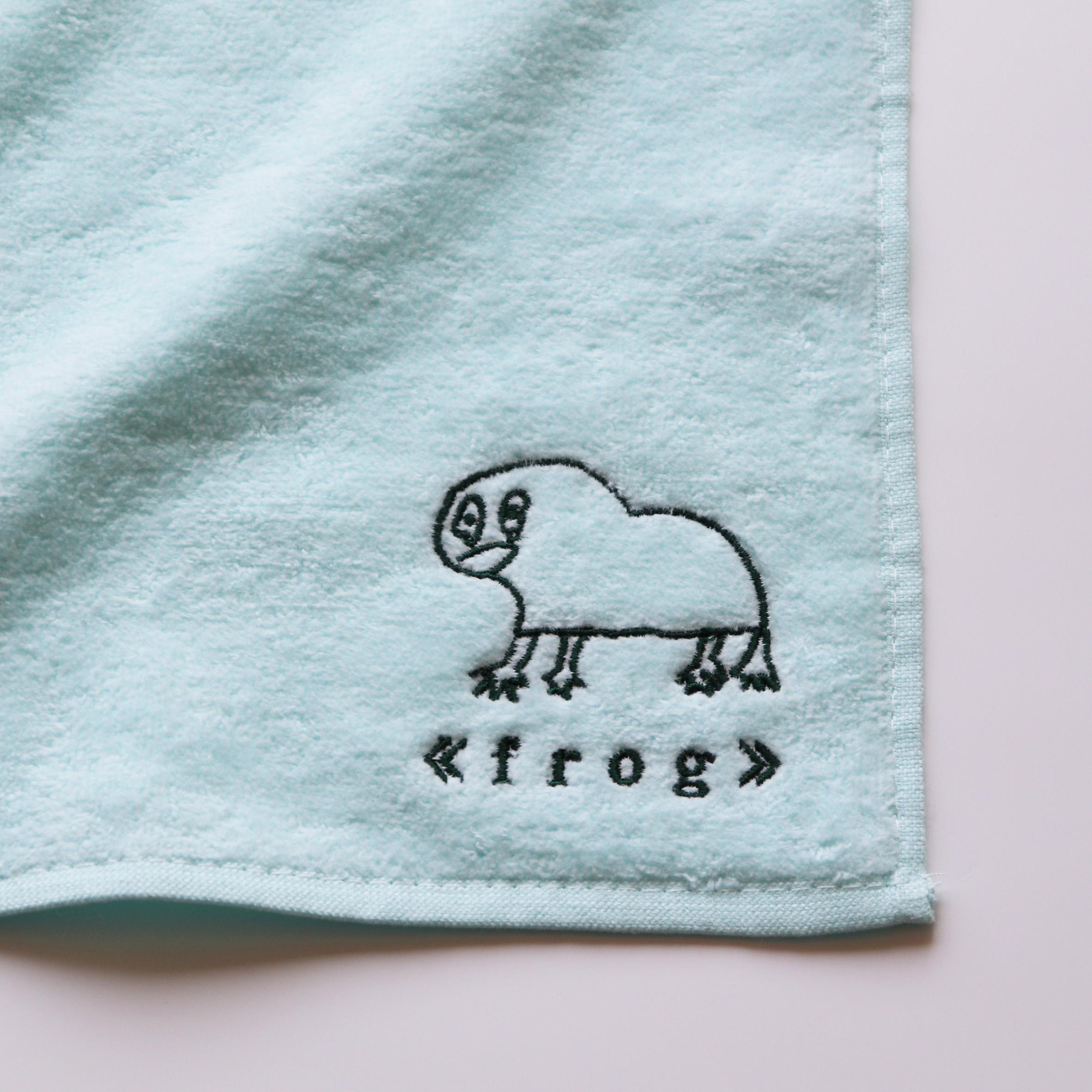 【16669】<br>オリジナル刺繍/B位置<br>NSシリーズ<br>ミニタオル<br>ブルー