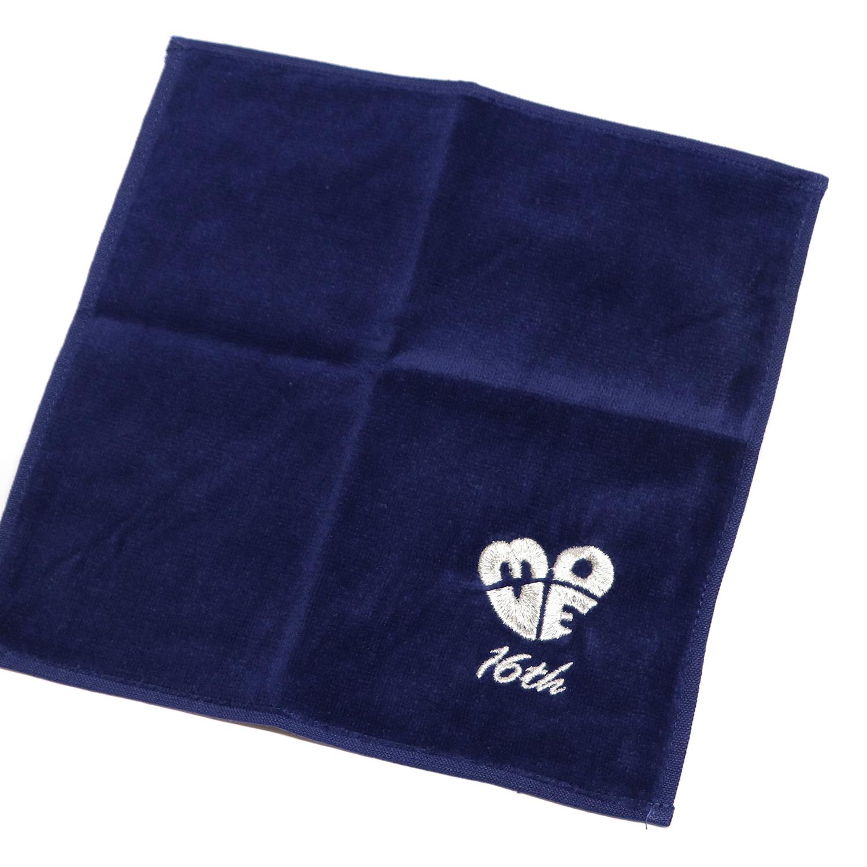 【17331】<br>オリジナル刺繍/B位置<br>ORシリーズ<br>ミニタオル<br>72ネイビー