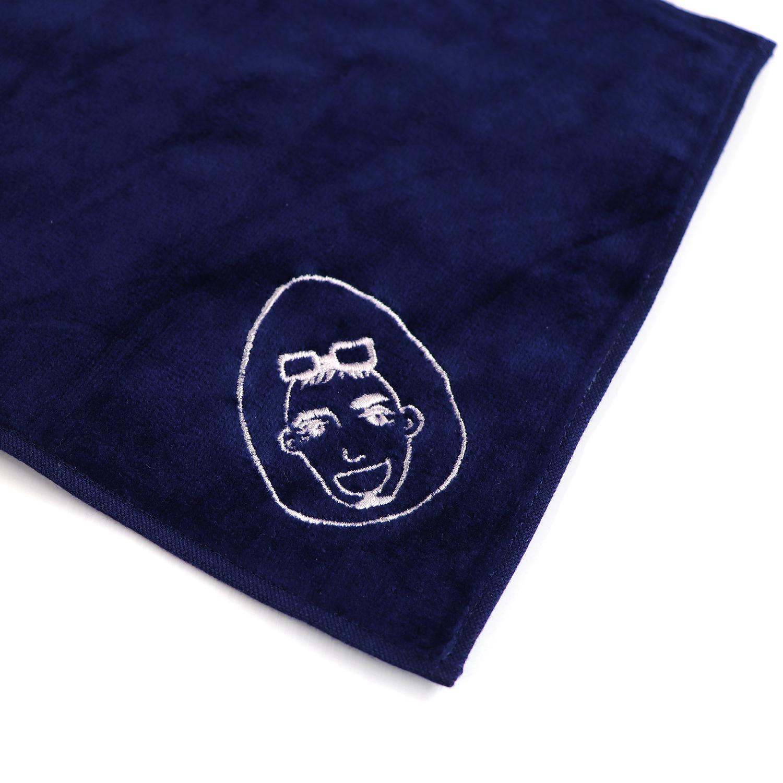 【19006】オリジナル刺繍/ORシリーズ/ミニタオル/ネイビー