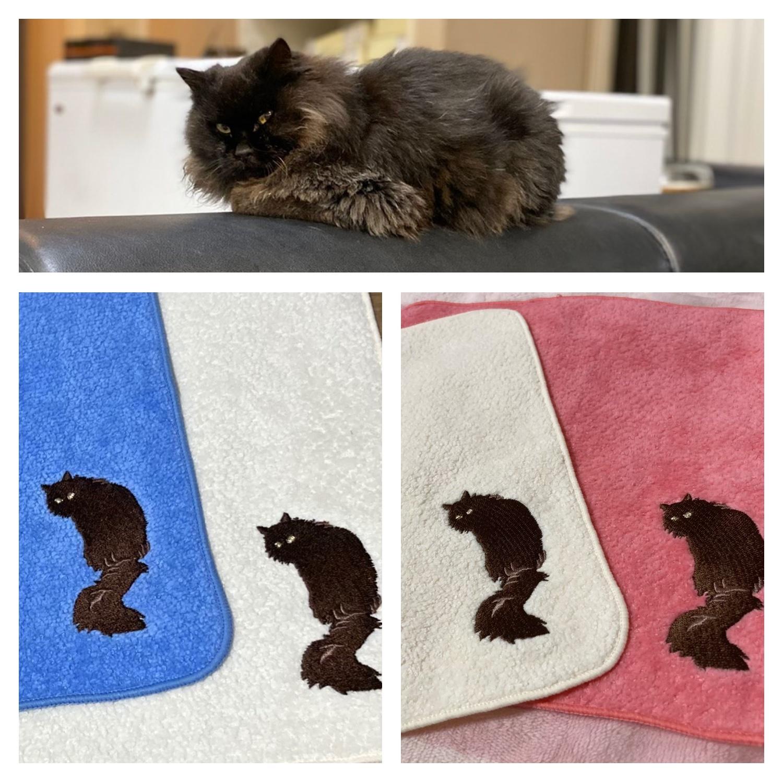 刺繍対応タオルを豊富にラインナップしており、 希望通りの商品を作ることができた