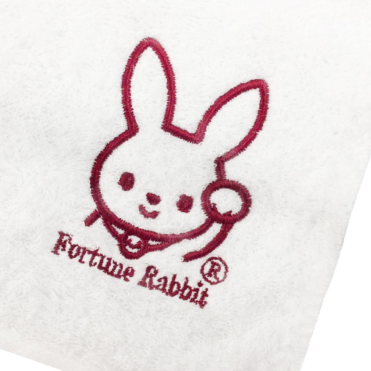 【18900】オリジナル刺繍/瀬戸織りたおる/ハンドタオル ホワイト/B位置